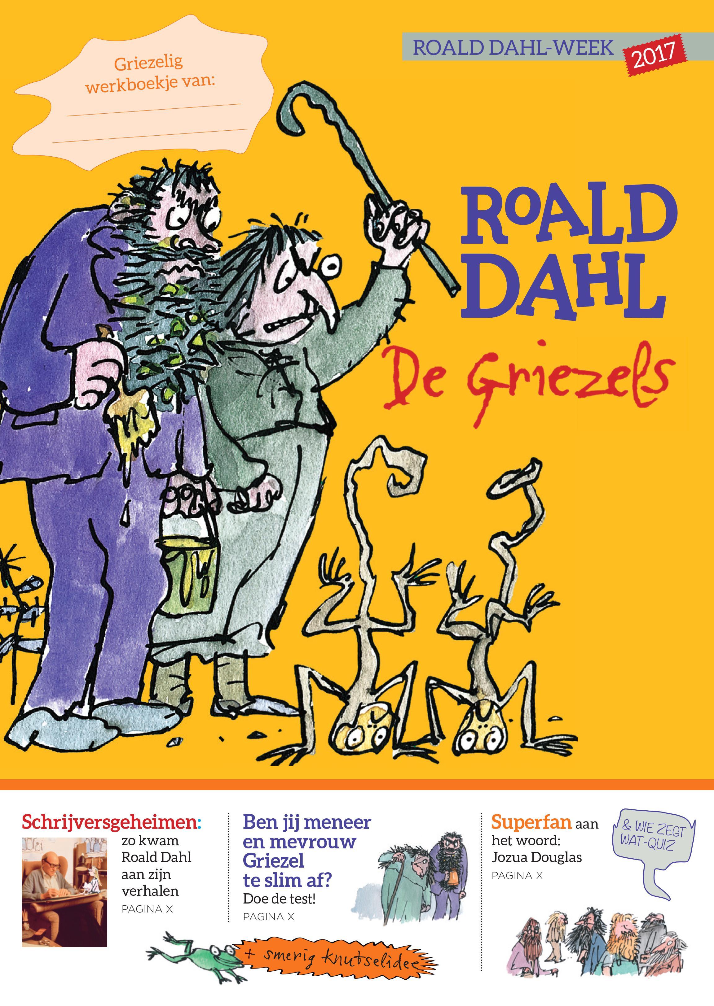 Roald Dahl Gratis Lesmateriaal Klas
