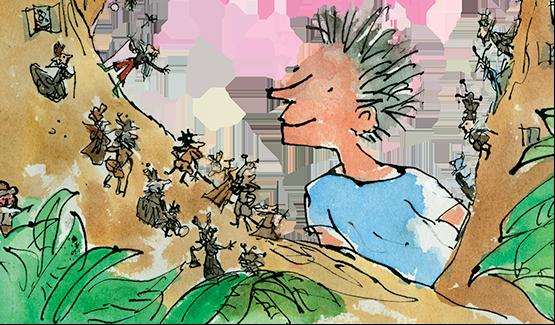Roald Dahl - Heintje en de minpins