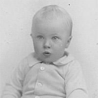 Het leven van Roald Dahl - 1916 - Babyfoto
