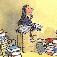 Het leven van Roald Dahl - 1988 - Matilda