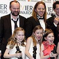 Het leven van Roald Dahl - 2012 - Olivier Awards