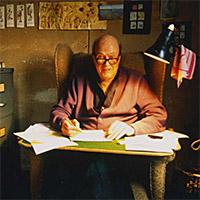 Het leven van Roald Dahl - 2012 - Schrijvershut