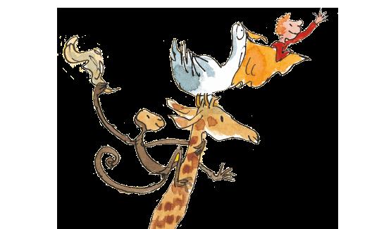 Roald Dahl - De giraffe, de peli en ik